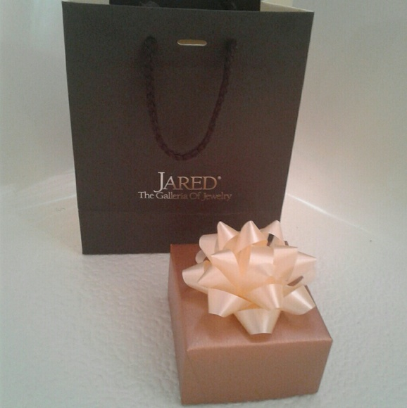 Jared Jewelry Gift Bag And Box Poshmark